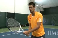 TIME Magazine: A Free Lesson with Novak Djokovic
