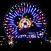 The Artist Behind a Ferris-Wheel's Lights